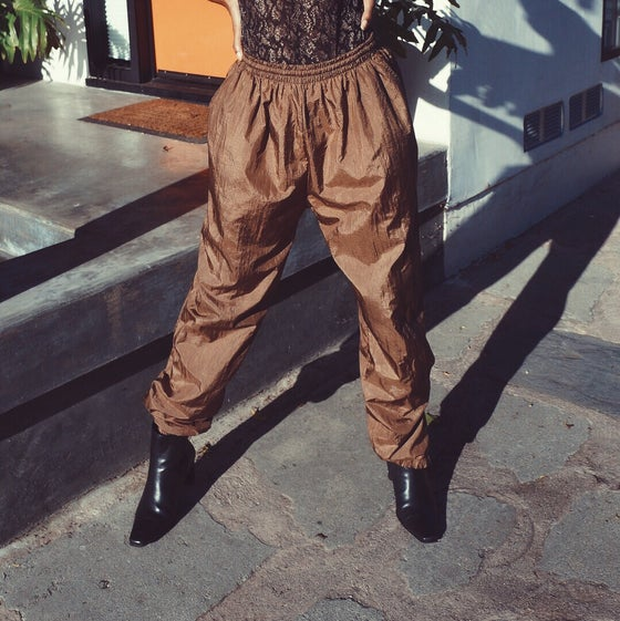 Image of Bronze Windbreaker Pants