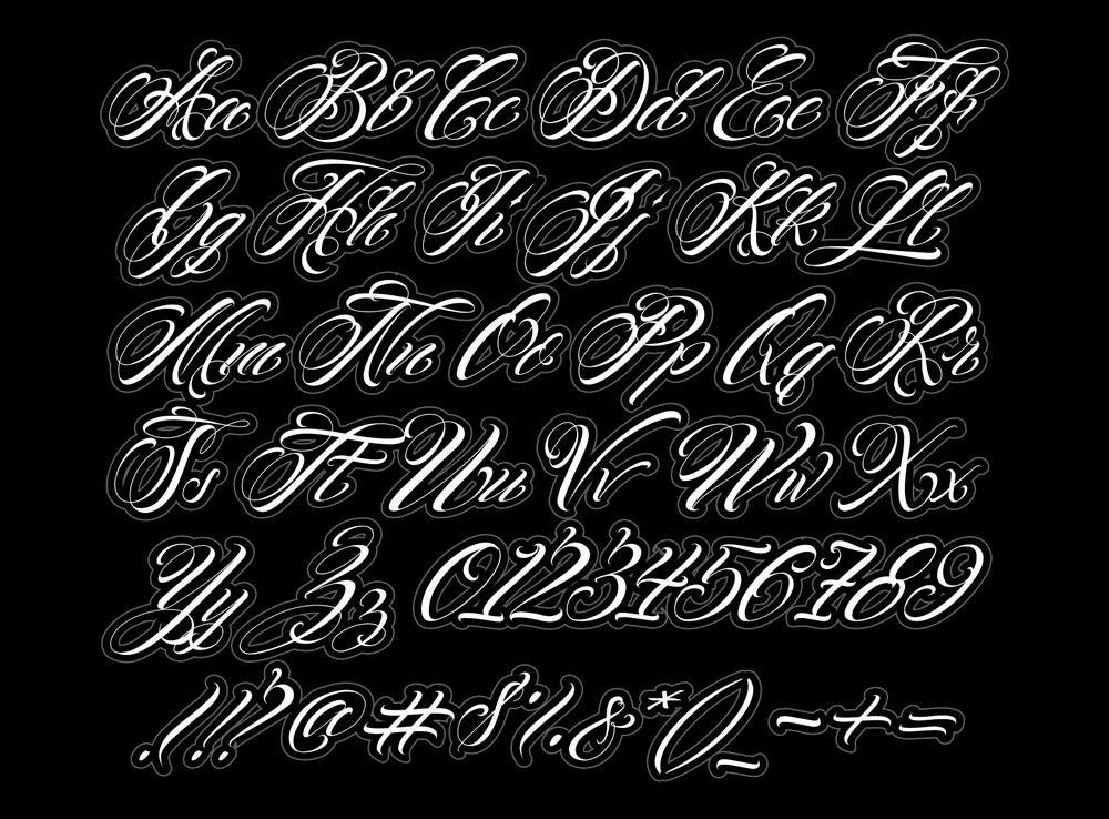 Image of 2018 NewLo Script Font