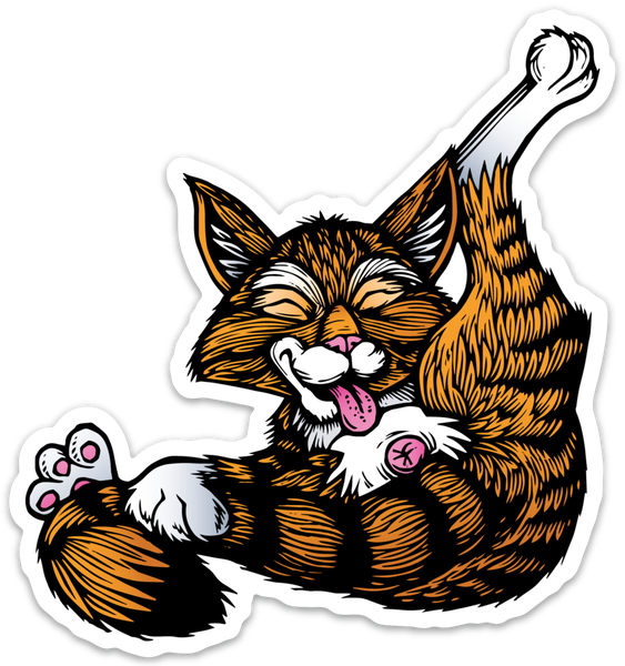 Image of Buttlicker Cat Sticker