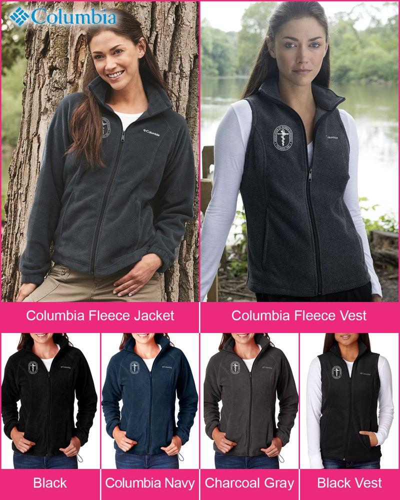 Image of Columbia AWS Fleece Jacket and Vest ~ starts @