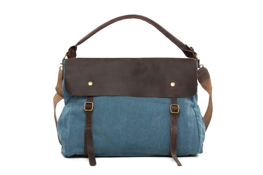 Image of Large Canvas Tote Bag, Shoulder Bag, School Bag 33683