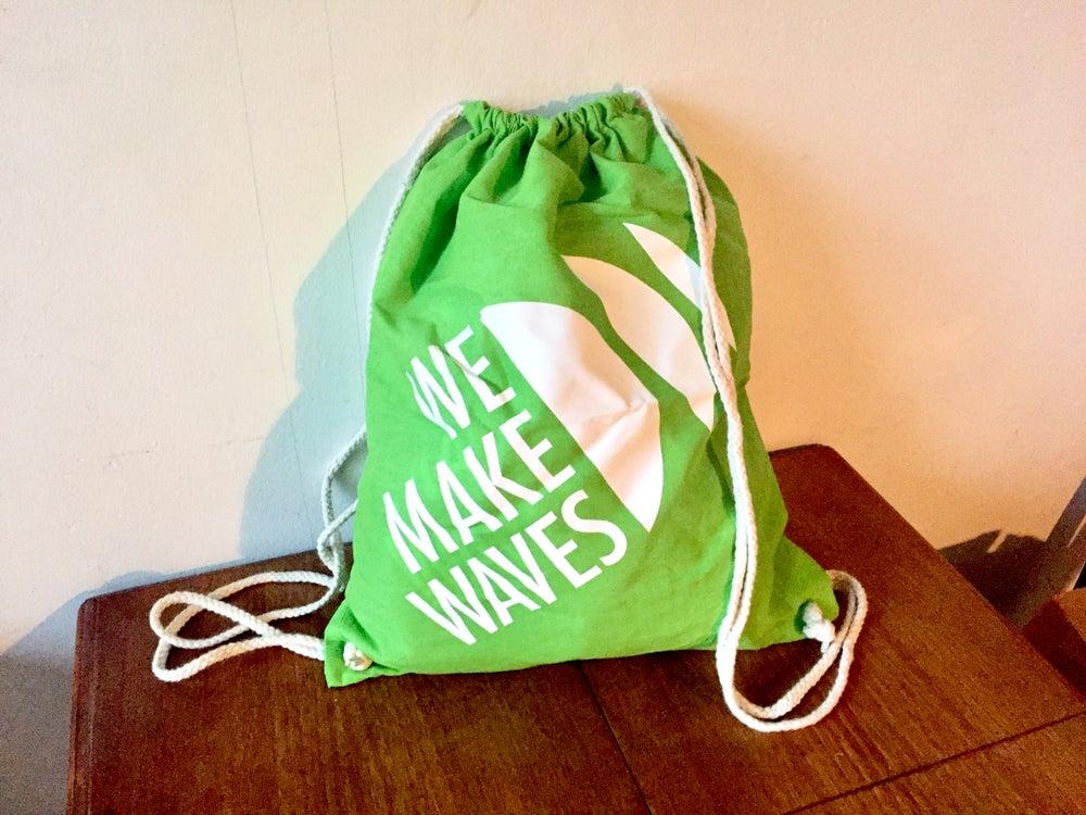 Image of WMW Gym Bag (Lime Green)