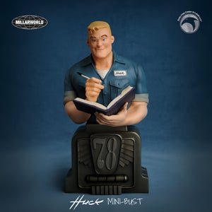Image of Huck: *SIGNED* Limited Edition Huck statue! - Free U.S. Shipping!