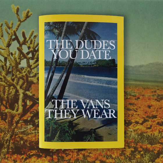 "Image of ""The Dudes You Date; The Vans They Wear"" Zine"