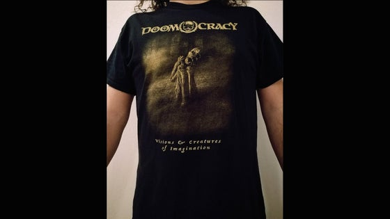 Image of DOOMOCRACY T-SHIRT (New Design) Visions & Creatures of Imagination