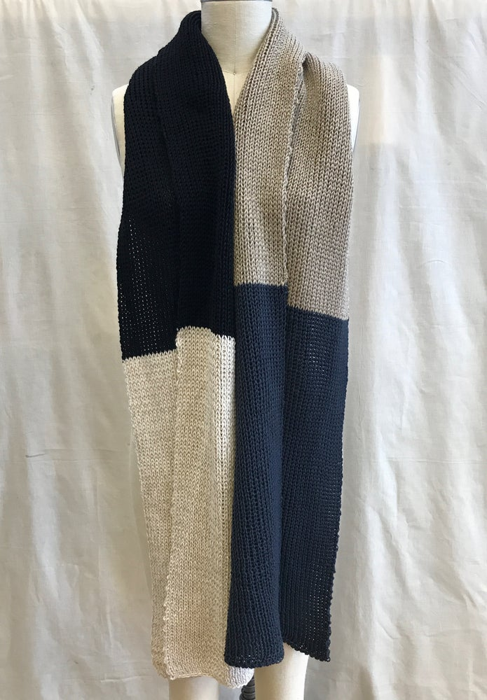 Image of Sparkle Color Block Scarf