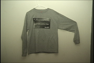 Image of Denim Card Long Sleeve