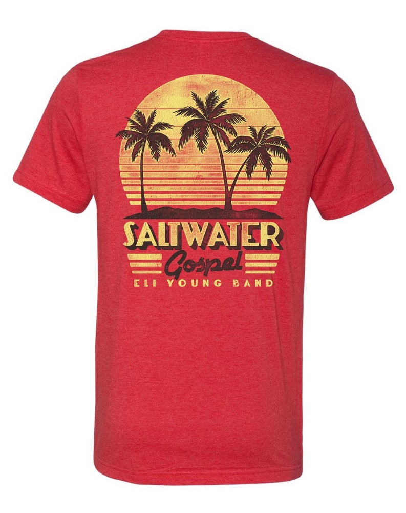 Image of EYB Red Saltwater Gospel T-Shirt