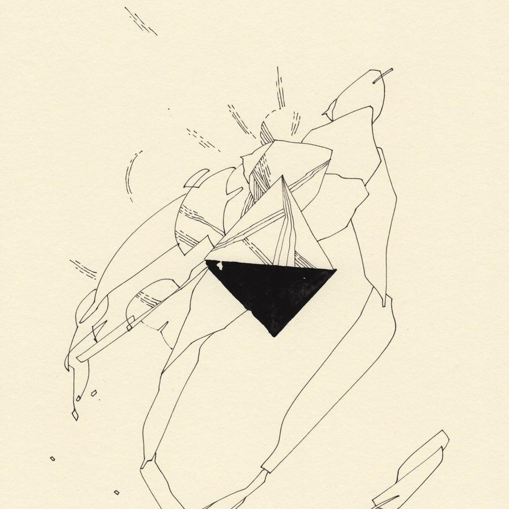 Image of / tetrahedron /