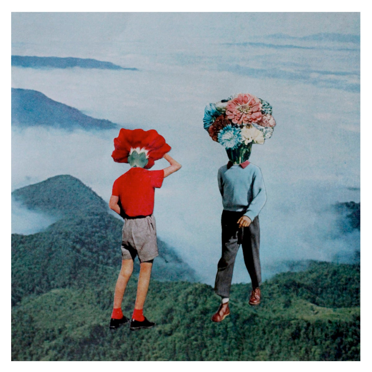 Image of Flower Kids 8x8 Limited Edition Print