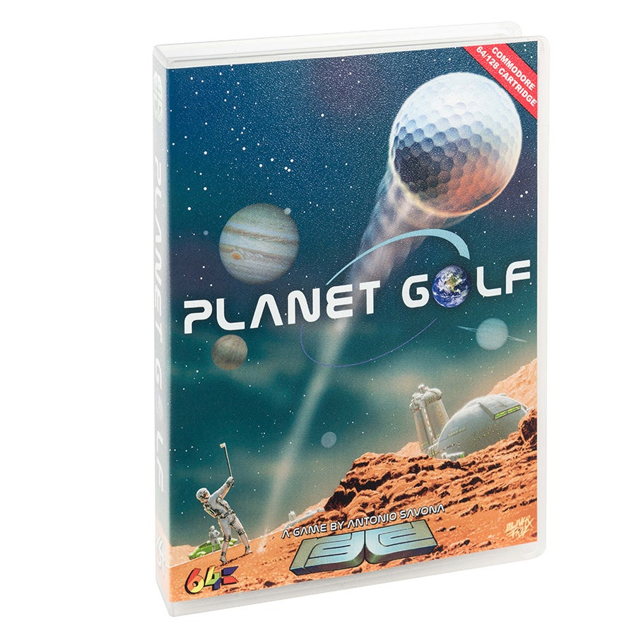 Image of Planet Golf (Commodore 64)