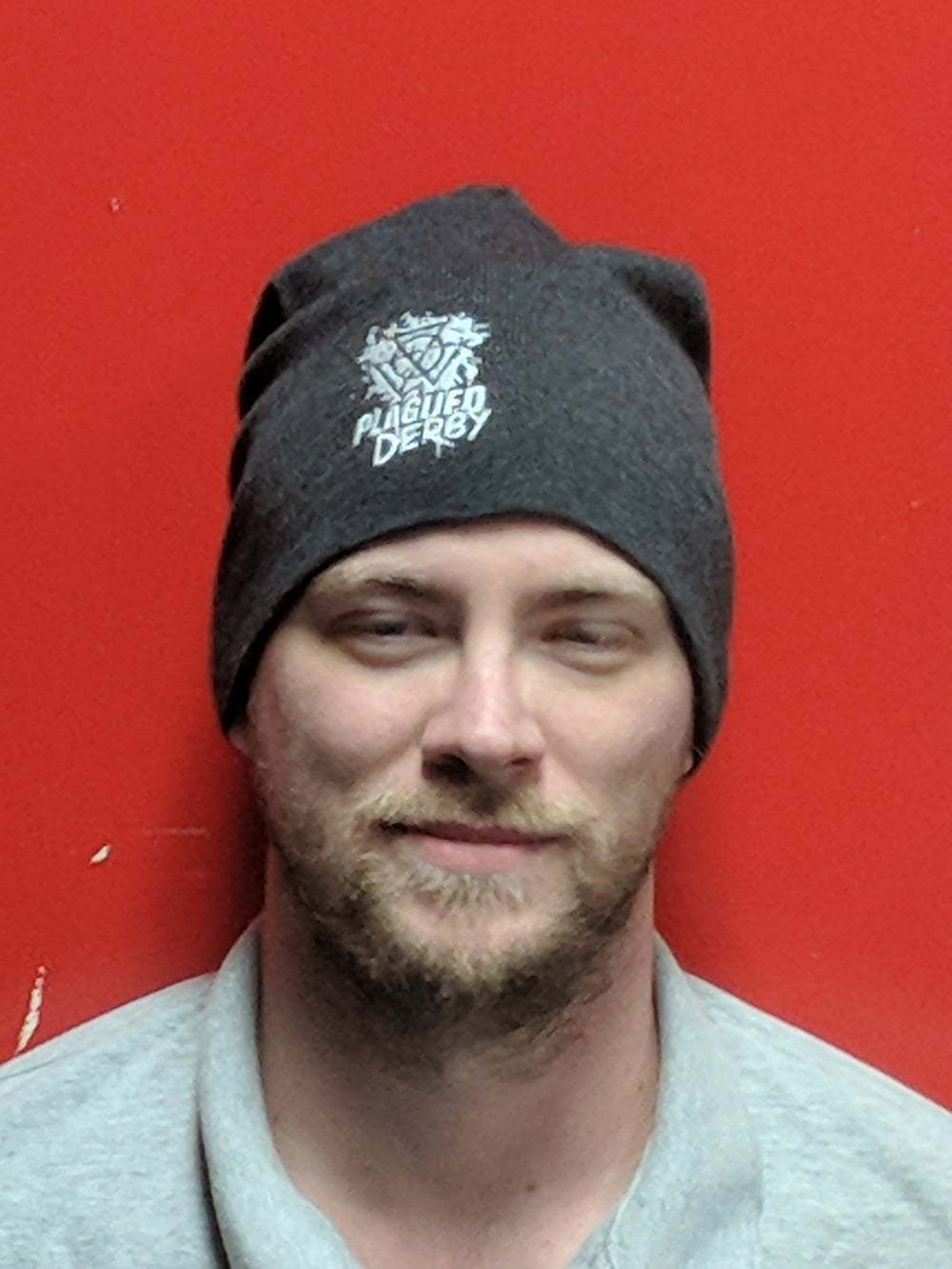Image of Plagued Derby Slouch Beanie