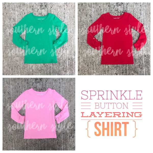 Image of Sprinkle Layering Shirt