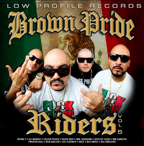 Image of BROWN PRIDE RIDERS VOL 5  CD
