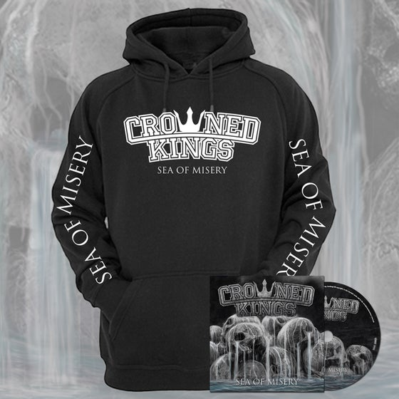 Image of Sea Of MIsery Hood & CD Pack
