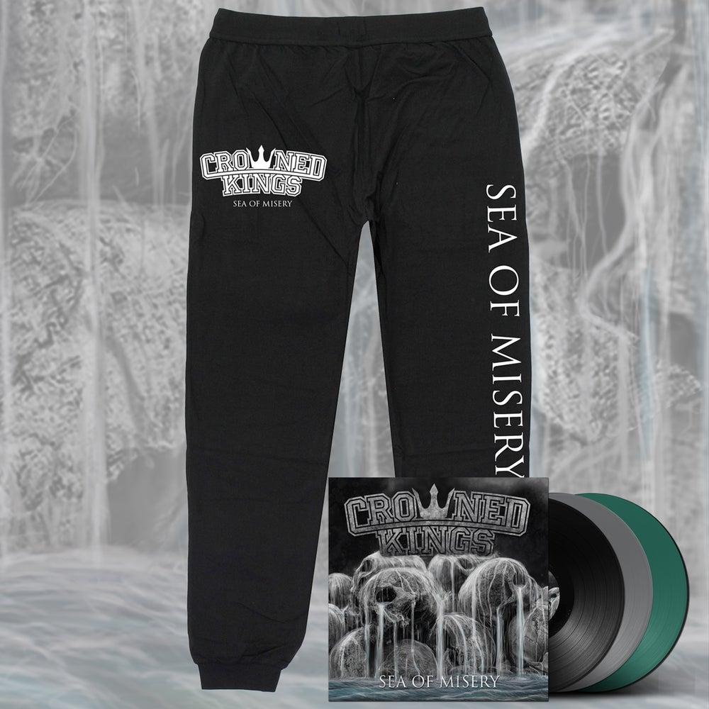 Image of Sea Of Misery Track Pant & Vinyl Pack