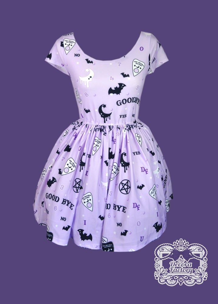 Image of The Witching Hour Skater Dress with Hidden Pockets