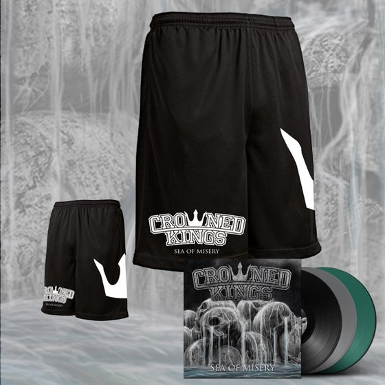 Image of Sea Of Misery Shorts & Vinyl Pack