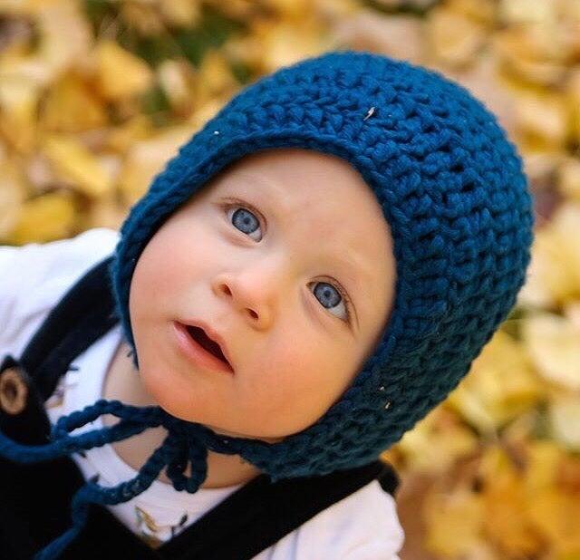 Image of Crochet Bonnet
