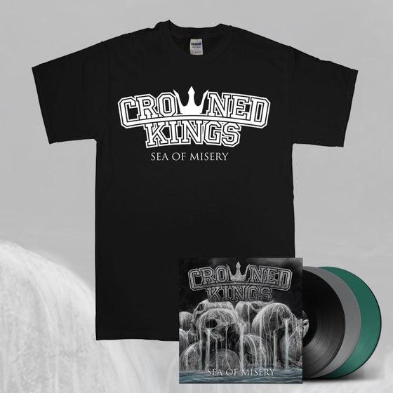 Image of Logo Shirt & Vinyl Pack