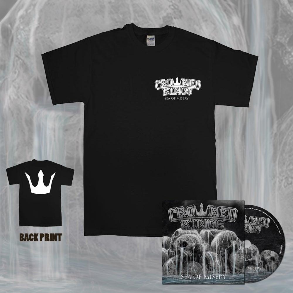 Image of Crown Shirt & CD Pack