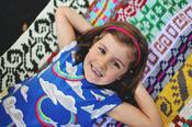 Image of Color Riot Blanket Pattern