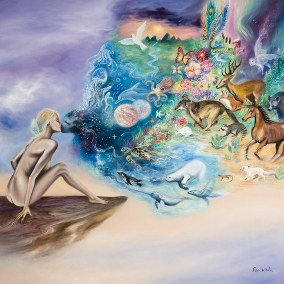 Image of Kiss of Life ~ Oil Painting ~ Prints Available
