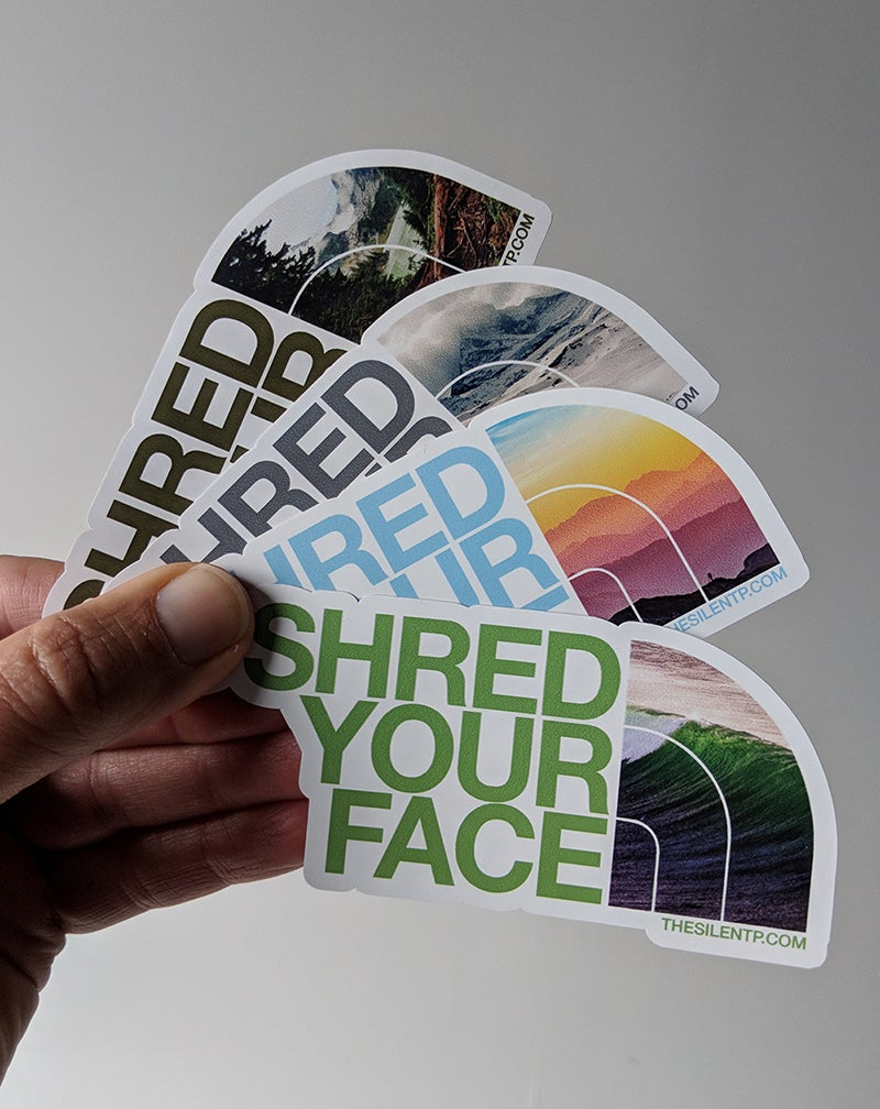 Image of Shred Your Face (all 4)
