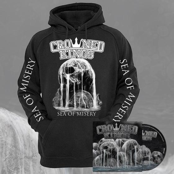 Image of Skull Hood & CD Pack