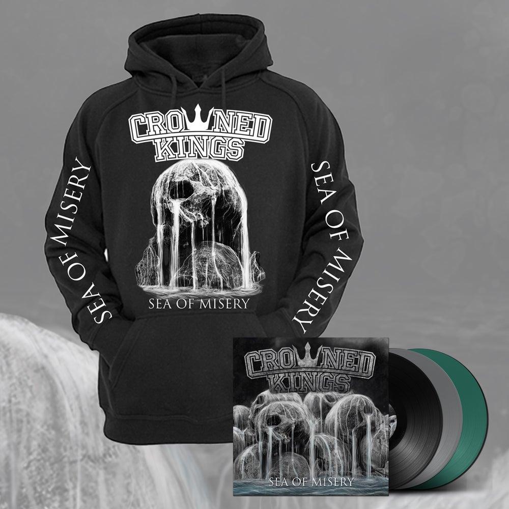 Image of Skull Hood & Vinyl Pack