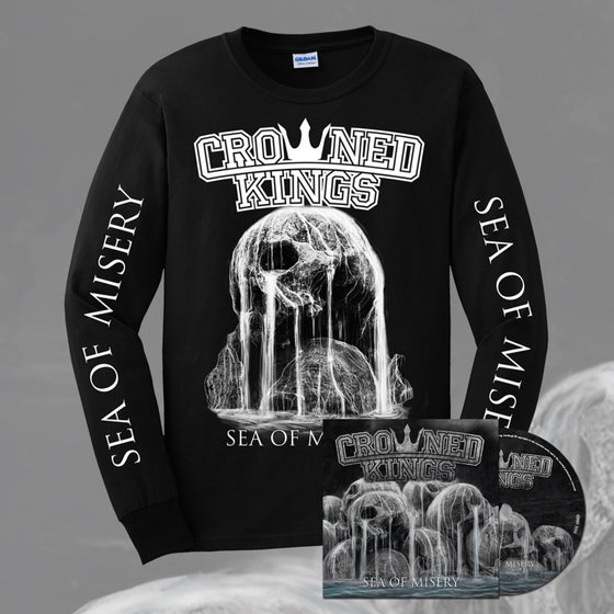 Image of Skull Longsleeve & CD Pack