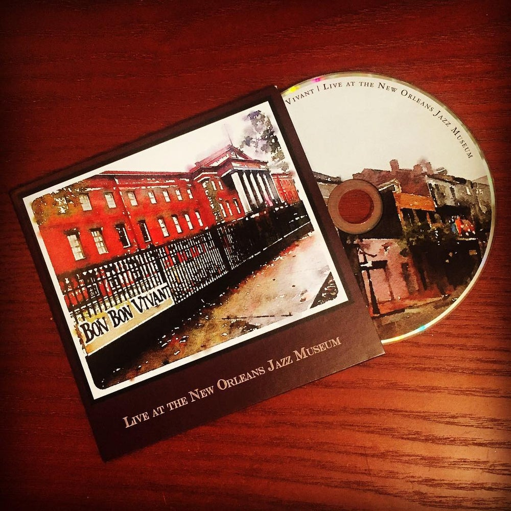 Image of Live at the New Orleans Jazz Museum (CD)