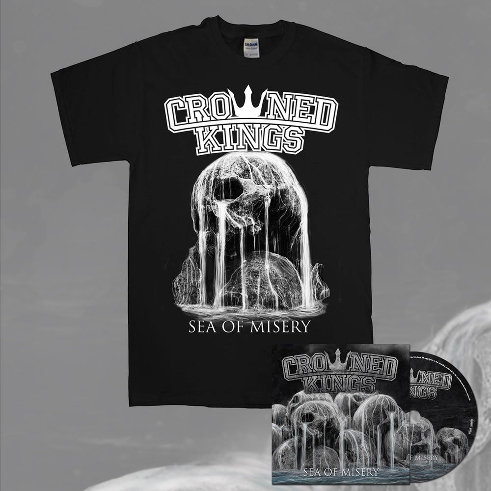 Image of Skull Shirt & CD Pack