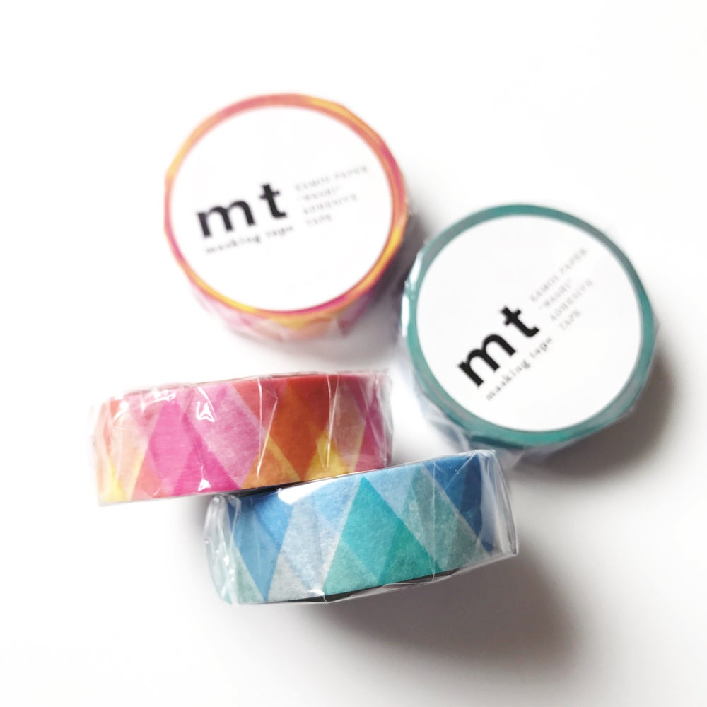 Image of MT Triangles and Diamonds Masking Tape