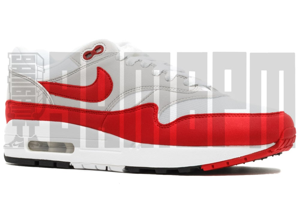 "Image of Nike AIR MAX 1 OG ""ANNIVERSARY"" RED"