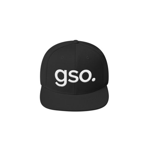 Image of gso. Snapback - Black