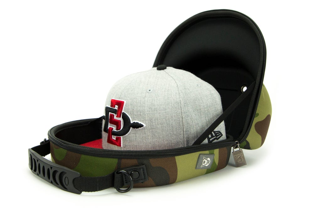 Image of Homie Gear 2 Cap Baseball Travel Case