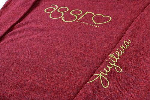 "Image of AGGRO Brand ""Jiujiteira"" Sweatshirt (Ladies')"