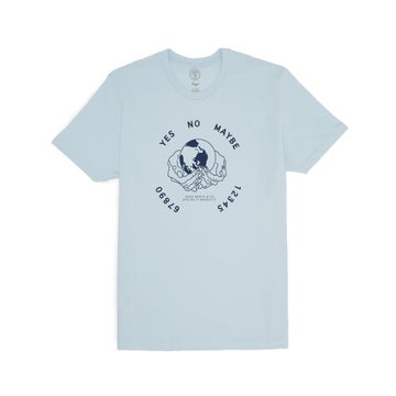 Image of GOOD WORTH & CO. - OUIJA TEE (LIGHT BLUE)