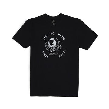 Image of GOOD WORTH & CO. - OUIJA TEE (BLACK)