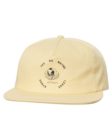 Image of GOOD WORTH & C0. - OUIJA 5 PANEL STRAPBACK (TAN)