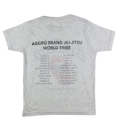 "Image of AGGRO Brand ""Rolling"" Tri-blend Shirt"
