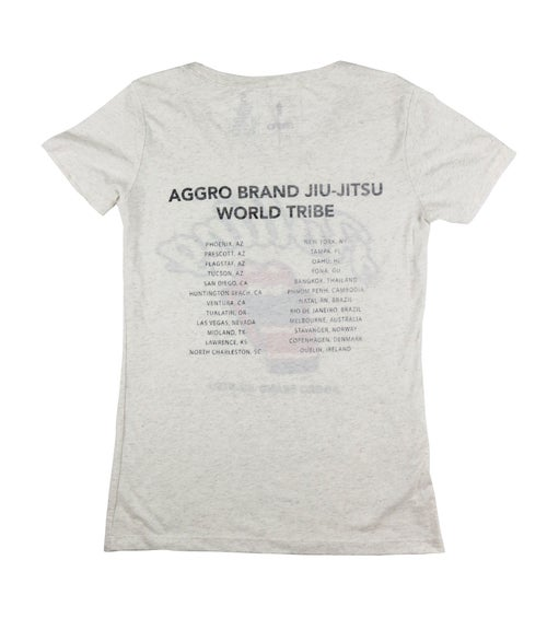 "Image of AGGRO Brand ""Rolling"" Shirt  (Ladies"")"