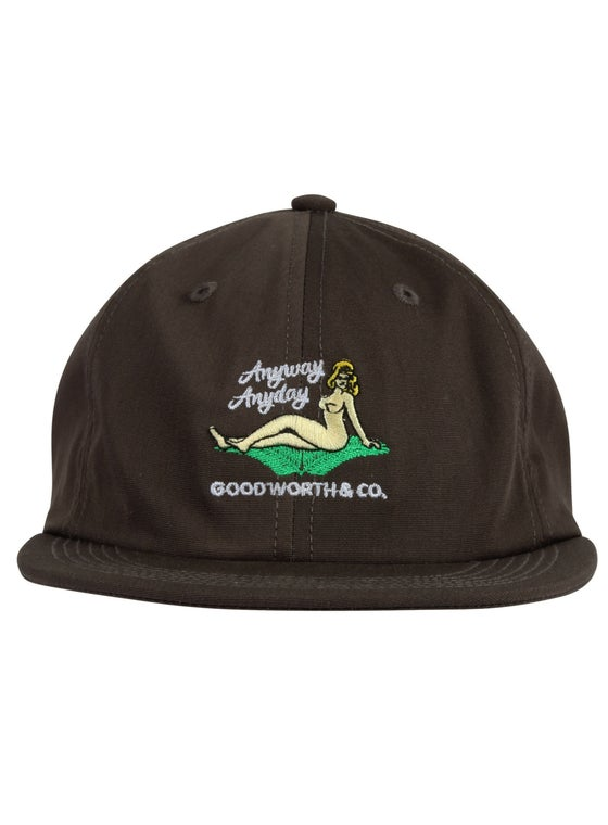 Image of GOOD WORTH & C0. - ANYWAY STRAPBACK (CHARCOAL)