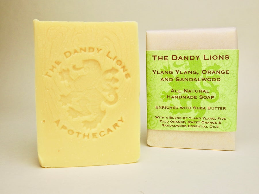 Image of NEW - Ylang, Orange and Sandalwood Soap enriched with Shea Butter
