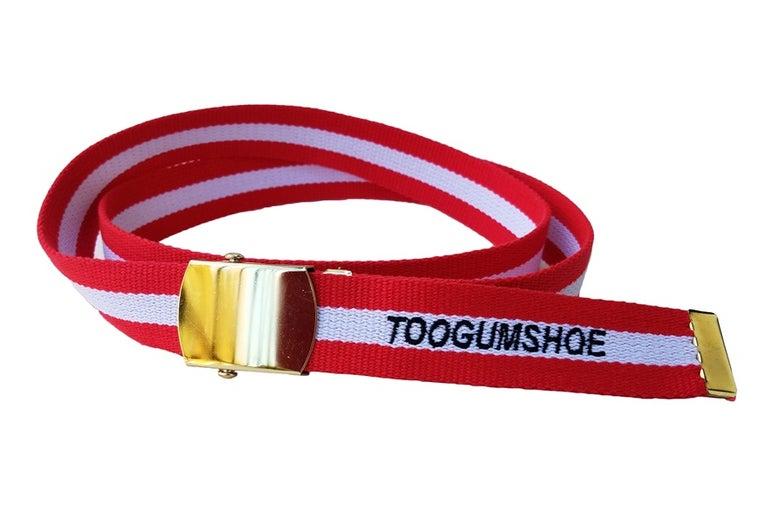 Image of Striped Belt