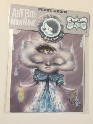 Image of ARTBITS™ MINI PRINTS 'Clara Cloud'