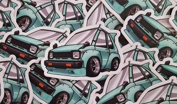 Image of Julian's Chibi 1982 Toyota Starlet