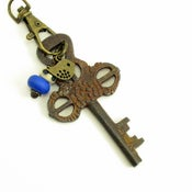 Image of Antique Copper Colored Skeleton Key