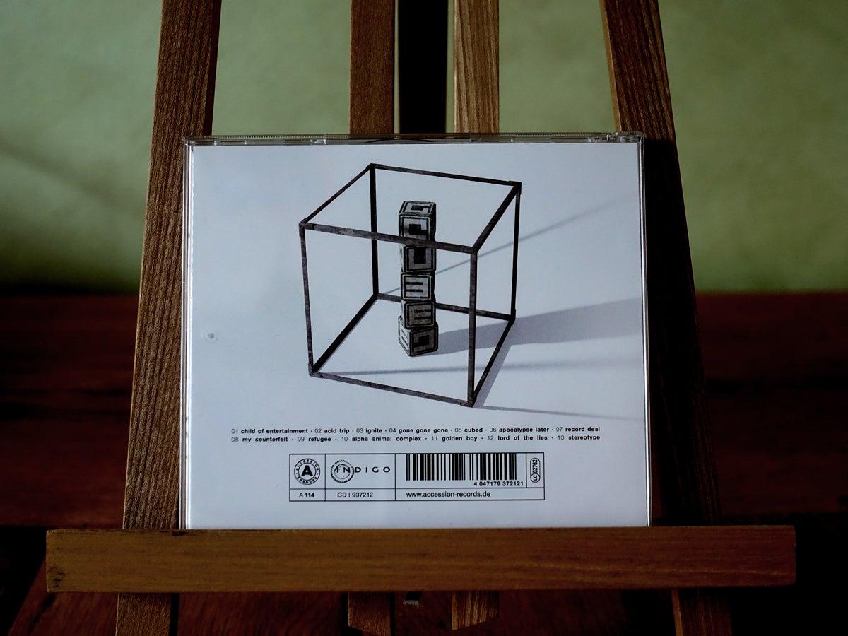 Image of album cd | cubed (white edition)